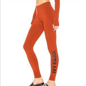 IVY PARK BEYONCE Logo Legging Orange Pale Ginger M